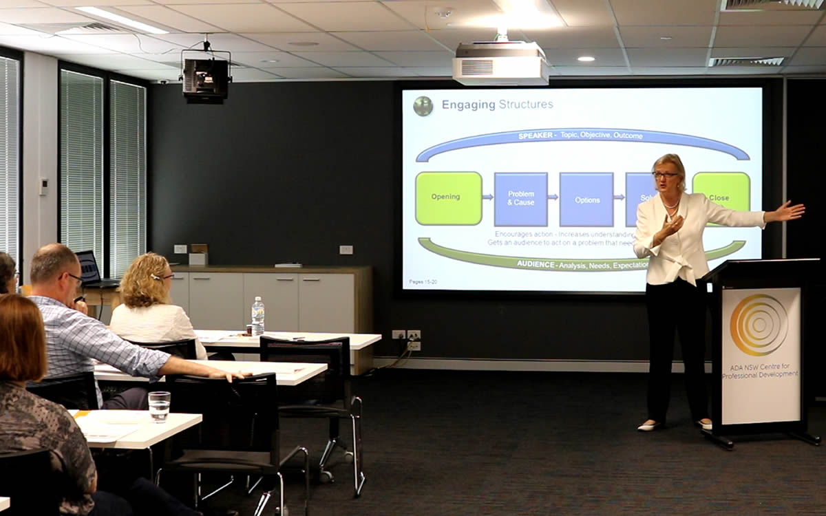 Business Presentation Training - Charmaine Burke, Art of Communicating